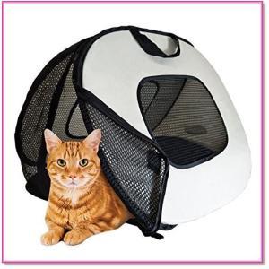 ペットキャリーバッグ軽量猫小型犬中型犬折りたたみキャリーケースメッシュ 0542|trepakgogo