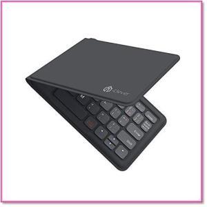 Bluetoothキーボード折りたたみ式レザー調折れないUSB薄型IOS Android Windows 0572|trepakgogo