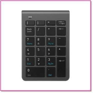 ワイヤレステンキーミニテンキーパッド2.4G22キーiMacMacBooks小型 軽量 高感度 0577|trepakgogo