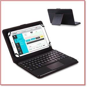 8-8.9インチタブレット汎用キーボードケースBluetooth3.0タッチパッド搭載日本語配列マルチOS対応 0967 trepakgogo