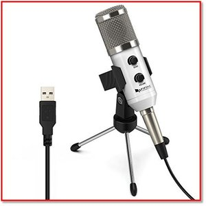 USBマイク コンデンサーマイク PCマイク エコー機能 Skype通話 宅録v配信放送 ゲーム実況K056 1001 trepakgogo