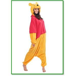 ディズニー くまのプーさん 着ぐるみ コスチューム 男女共用 フリーサイズ フリース 1304 trepakgogo
