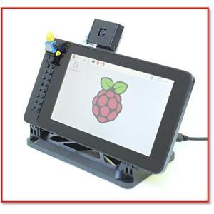 PiTouch-RaspberryPiオフィシャル7 ディスプレイ用ケース スタンド-スマーティパイタッチ 1727|trepakgogo