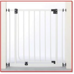 日本育児 ベビーゲイト ホワイト 6ヶ月~24ヶ月対象 扉開閉式のシンプルな突っ張りゲイト 1768|trepakgogo