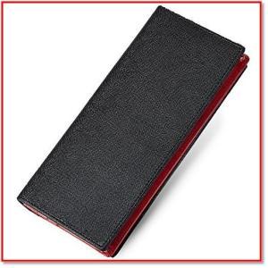 紳士的な上品さを演出しながらも、機能美といえる機能性を兼ね備えた財布である。  薄く、持ち運びやすい...
