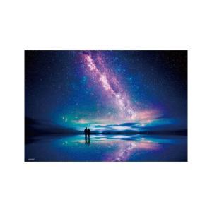 広大な湖面に星空を映し出すウユニ塩湖の風景をジグソーパズルにしました。完成サイズ「38×26cm」と...