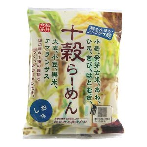 桜井食品 ノンフライ十穀らーめん(しお味) 1食(87g)×20個 代引き不可