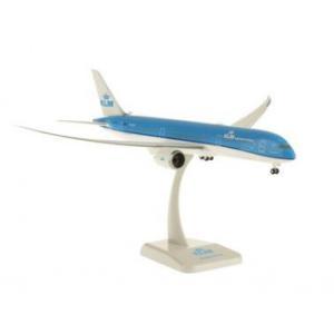 B787-9 KLMオランダ航空 飛行姿勢 ランディングギア/スタンド/WiFiレドーム付 1/200スケール HO10826GR 代引き不可|trepakgogo