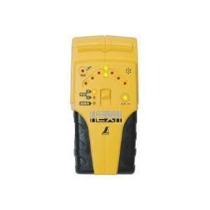 壁裏の下地と電線を探知するのに使用する下地センサー。壁裏の金属・木材・プラスチック・電線を探知、点滅...