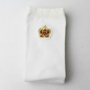 Innocent World イノセントワールド クラウン 刺繍 ハイソックス/オフホワイト 靴下 ...