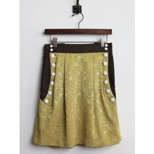 【セール30%OFF!】美品 Petit Costume プチ・コスチューム フラワー ギャザー スカート  2400010314100 nsg