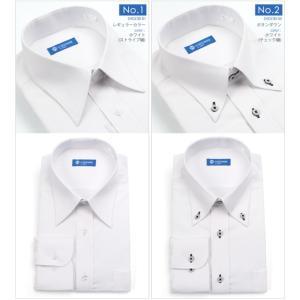 ストレッチシャツ メンズ ビジネス ノーアイロン 長袖 ストレッチ ワイシャツ Yシャツ 形態安定 形状記憶 ボタンダウン レギュラー|tresta|06