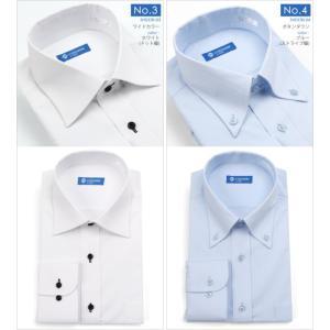 ストレッチシャツ メンズ ビジネス ノーアイロン 長袖 ストレッチ ワイシャツ Yシャツ 形態安定 形状記憶 ボタンダウン レギュラー|tresta|07