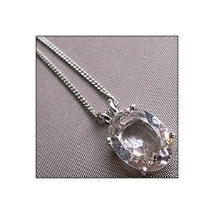 【ペンダント】ハーキマーダイアモンド#11◇天然石・パワーストーン・アクセサリー◇|triangle358