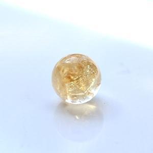 【10mm球】シトリン 天然石 パワーストーン 球体|triangle358