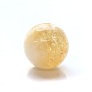 【20mm球】シトリン 天然石 パワーストーン 球体|triangle358