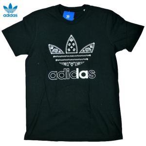 新品/adidas ORIGINALS/トレフォイル/LA/ロサンゼルス限定/Tシャツ/黒【ネコポス対応】|trickortreat