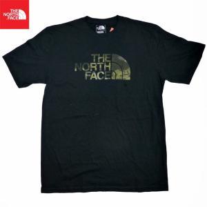 新品/The North Face/グラフィックTシャツ/黒/迷彩【ネコポス対応】|trickortreat