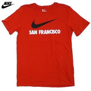 US限定/NIKE/SWOOSHED SAN FRANCISCO/サンフランシスコ/赤【ネコポス対応】|trickortreat