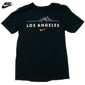 US限定/NIKE/Skyline Tee/ロサンゼルス/黒【ネコポス対応】|trickortreat