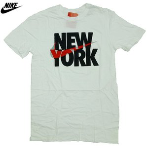 US限定/NIKE/SWOOSHED NEW YORK/ニューヨーク/白【ネコポス対応】|trickortreat