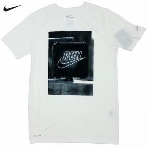 新品/Nike/Run P Don't Walk Run Tee/白【ネコポス対応】|trickortreat
