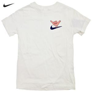 新品/Boy's/Nike/Hang Loose Tee/ハングル―ス/Tシャツ/白【ゆうパケット対...