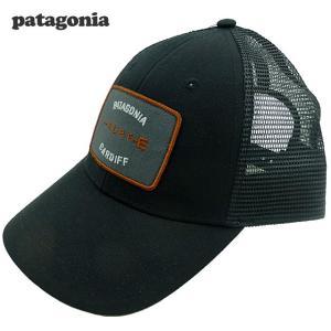 新品/Patagonia/Shop Tee Lo Pro Trucker/キャップ/黒/カーディフ限定|trickortreat