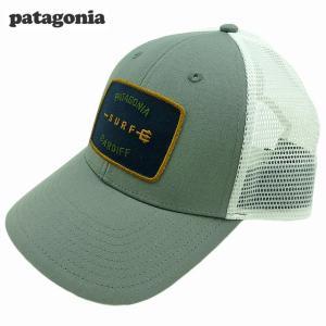 新品/Patagonia/Shop Tee Lo Pro Trucker/キャップ/グレー/カーディフ限定|trickortreat