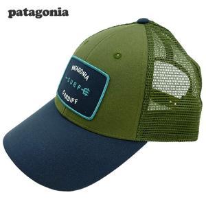 新品/Patagonia/Shop Tee Lo Pro Trucker/キャップ/緑/紺/カーディフ限定|trickortreat