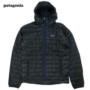新品/Patagonia/ナノパフ・フーディ/黒|trickortreat