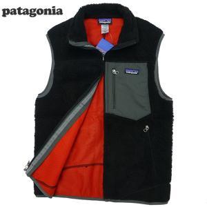 新品/Patagonia/パタゴニア/レトロXベスト/黒|trickortreat