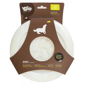 正規輸入品 ウエストポウデザイン West Paw Design 犬用玩具ゾゴフレックス ジスク グロウ L|tricycle