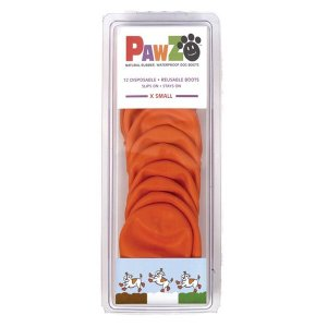 PROTEX PAWZ 犬用 ラバーブーツ XS×12枚入(犬用 ブーツ シューズ 靴 ペット)|tricycle
