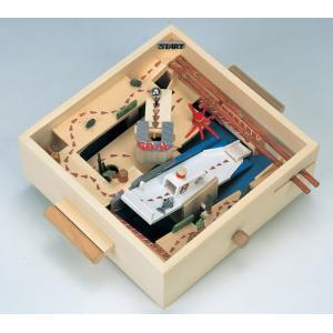 加賀谷木材 立体迷路ゲーム(木工 工作 キット ハンドクラフト 夏休み 自由研究 天然木 材料)