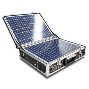 クマザキエイム ソーラー発電システム(発電機 小型 ソーラーパネル 太陽光発電 蓄電池 セット パネル)|tricycle