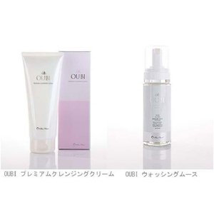 OUBI ダブル洗顔セット クレンジング&ウォッシングムース(スキン フェイス ケア 洗顔料)|tricycle