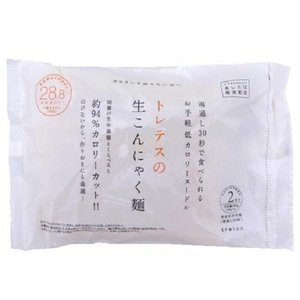tretes トレテス 生こんにゃく麺(180g×2食入り)×12袋(ラーメン やきそば パスタ 蒟蒻 生麺)|tricycle