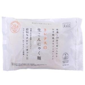 tretes トレテス 生こんにゃく麺(180g×2食入り)×24袋(ラーメン やきそば パスタ 蒟蒻 生麺)|tricycle