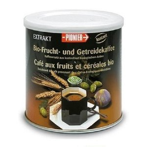 スイス MORGA モルガ社 PIONIER 麦芽穀物コーヒー 125g×2個セット(ノンカフェイン コーヒー 紅茶 お茶 飲み物 インスタント)|tricycle