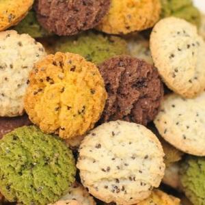 豆乳おからチアシードクッキー 4種ミックス 200g×4袋(おからパウダー 食物繊維 満腹感 置き換え 糖質制限 ダイエット)|tricycle