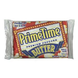 プライムタイム PrimeTime マイクロウェーブポップコーン バター 99g×72個セット|tricycle