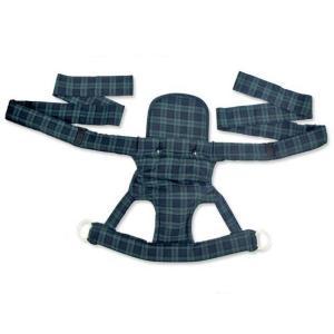 ベビーキャリー ブラックウォッチ(おんぶひも おんぶ紐 昔ながら ひもタイプ クロス おんぶ だっこ 兼用 子守帯 日本製)|tricycle