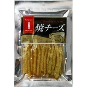 ブラックペッパー焼チーズ 40g×10袋(おつまみ 酒の肴 日本酒 おやつ オードブル 珍味)|tricycle