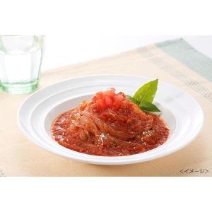 マンナン食堂 完熟トマトの旨みたっぷりパスタ こんにゃく麺 200g(72kcal)×10袋セット(蒟蒻麺 置き換え 糖質制限 ダイエット マンナン 販売)|tricycle