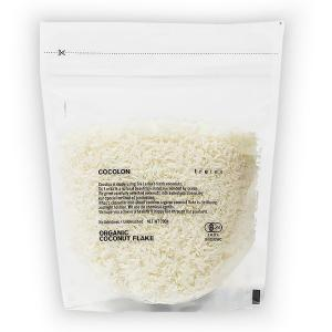 COCOLON ココロン オーガニックヴァージンココナッツフレーク 200g×5個セット(ココナッツオイル レシピ 糖質 栄養 有機栽培 トレテス)|tricycle