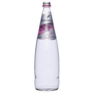 Sanbenedetto サンベネデット ナチュラルミネラルウォーター 炭酸なし グラスボトル 1000ml×12本|tricycle