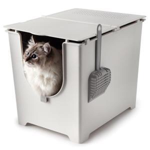 modko モデコ フリップリターボックス(システム 猫 トイレ 本体 大型 ペット 用品 おしゃれ)|tricycle