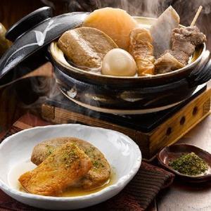 静岡おでんの特徴は、黒く濃いだし汁で、牛すじや黒はんぺんなどを煮込み、それらにだし粉をかけて食べるこ...
