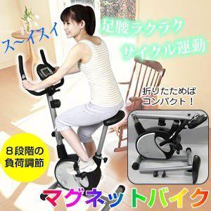 マグネットバイク CP-9000 (エアロバイク 折りたたみ)|tricycle
